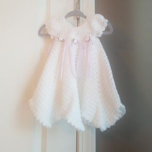 Other - Newborn Crocheted Dress